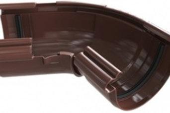 Угол желоба регулируемый 120-145, элит, коричневый