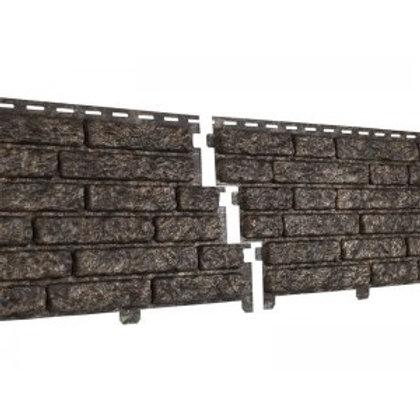Фасадные панели Ю-Пласт Стоун Хаус, Кварцит, Коричневый