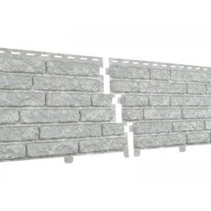 Фасадные панели Ю-Пласт Стоун Хаус, Кварцит, Светло-серый