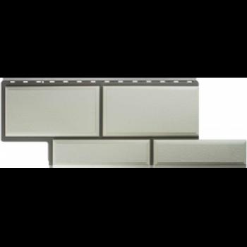 Фасадные панели Альта-Профиль, Камень Флорентийский, белый