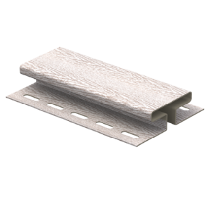 H-планка timberblock ясень, Ю-Пласт, беленый