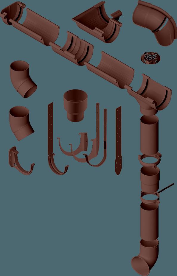 Преимущества водосточной системы Альта-Профиль