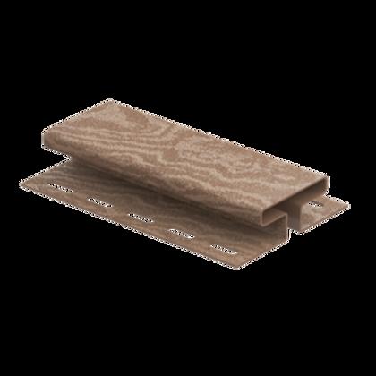 H-планка timberblock кедр, Ю-Пласт, натуральный
