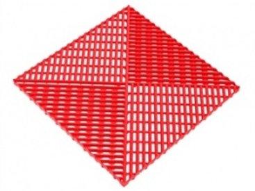 Решётка с дополнительным обрамлением. Цвет красный