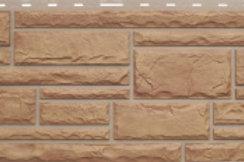 Фасадные панели Альта-Профиль, Камень, Бежевый