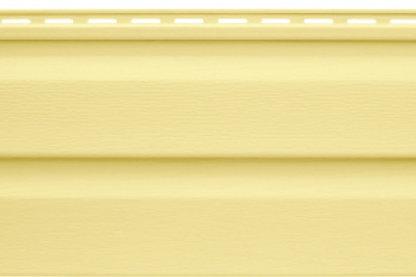 Престиж Канада-Плюс, виниловый сайдинг, желтый