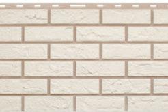 Фасадные панели Альта-Профиль, Кирпич, белый