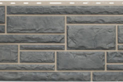 Фасадные панели Альта-Профиль, Камень, Серый