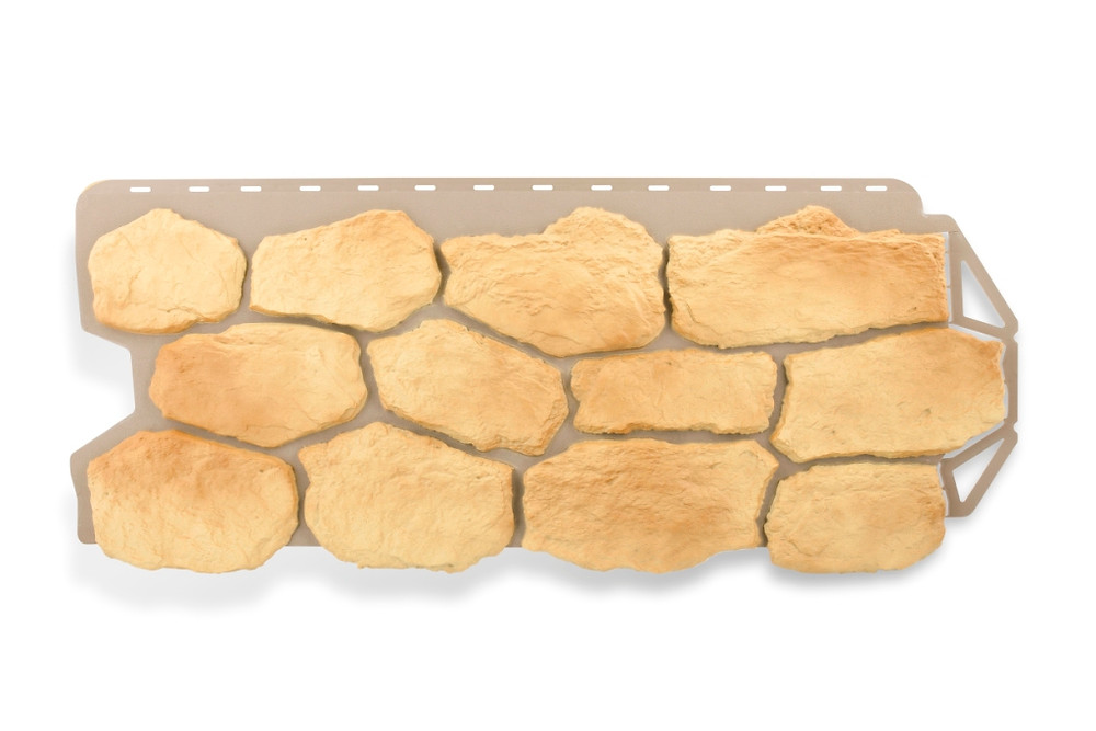 Фасадные панели Бутовый камень