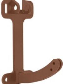 Поворотный элемент пластикового кронштейна, стандарт, коричневый
