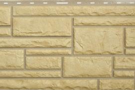 Фасадные панели Альта-Профиль, Камень, Желтый