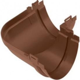 Угол желоба 90, стандарт,коричневый