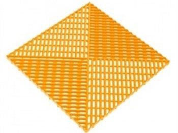 Решётка с дополнительным обрамлением. Цвет жёлтый