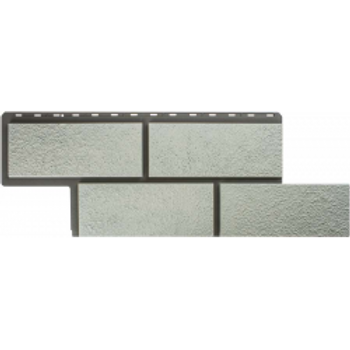 Фасадные панели Альта-Профиль, Камень Неаполитанский, белый