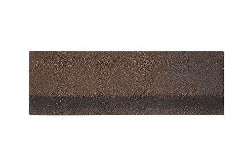 Коньково-карнизная черепица Alta-Roof Коричневый А-HR-15 (уп.-6,6кв.м)
