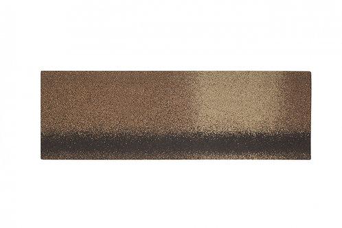 Коньково-карнизная черепица Alta-Roof Сандаловый А-HR-16 (уп.-6,6кв.м)