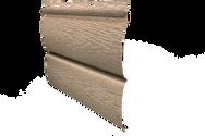 Виниловый сайдинг Ю-Пласт Тимберблок ясень золотистый