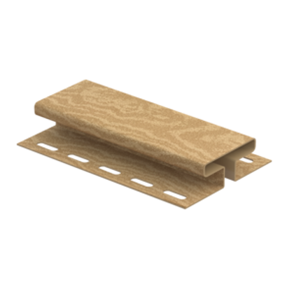H-планка timberblock кедр, Ю-Пласт, янтарный