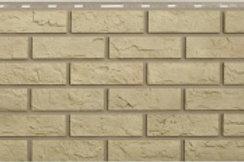 Фасадные панели Альта-Профиль, Кирпич, желтый