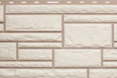 Фасадные панели Альта-Профиль, Камень, Белый