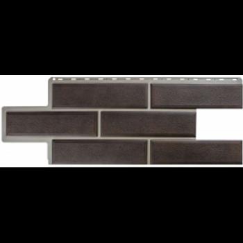 Фасадные панели Альта-Профиль, Камень Венецианский, коричневый
