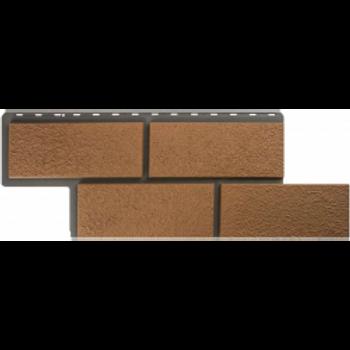 Фасадные панели Альта-Профиль, Камень Неаполитанский, персиковый