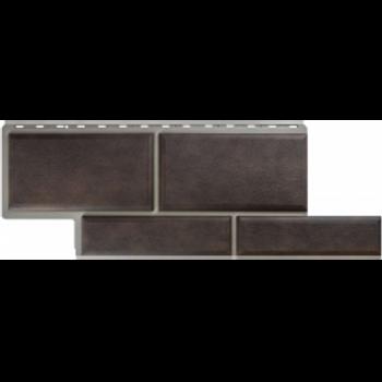 Фасадные панели Альта-Профиль, Камень Флорентийский, коричневый