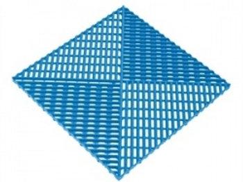 Решётка с дополнительным обрамлением. Цвет синий