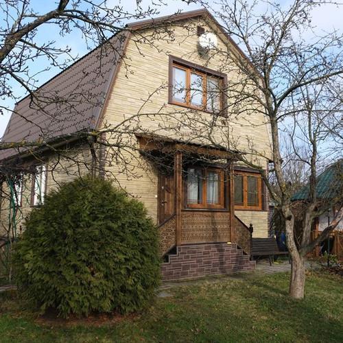 Фотографии домов отделанные фасадными па