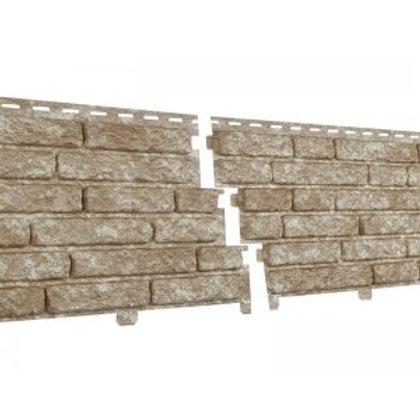 Фасадные панели Ю-Пласт Стоун Хаус, Кварцит, Светло-бежевый