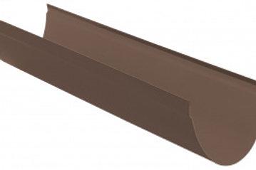 Желоб ПВХ водосточный, длина 4 м, диаметр 115 мм, серия стандарт, цвет кори
