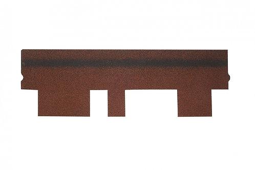 Гибкая черепица Alta-Roof Классик Красный с оттенением А-К-21