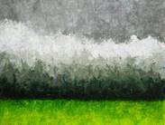 Acrylique, 92 x 73 cm