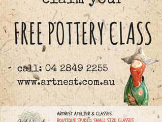 TRY POTTERY FOR FREE