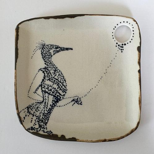 I am Porcelain who wants to be Enamel - plate