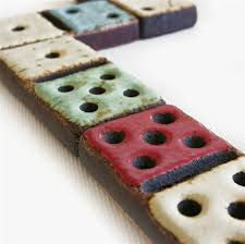 POTTERY DOMINO GAME