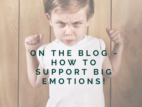 Six tips to supporting big emotions in our children and us.