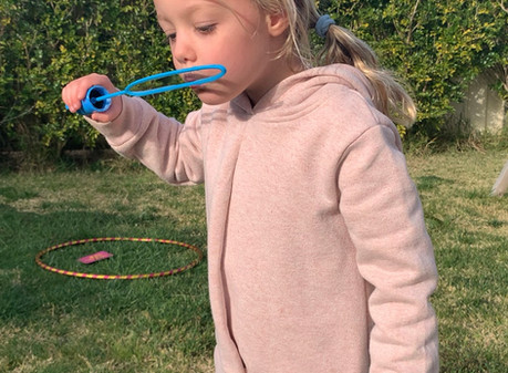 5 ways to turn bubbles into calming activities. Yes this is possible!