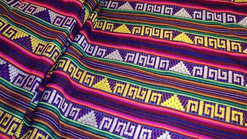 Cambaya Fabric- Purple- Per yard