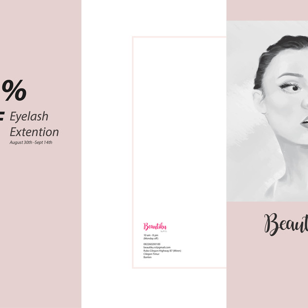 #option 1 - 3 fold Brochure Design (Outside)