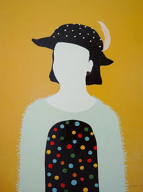 Oil Painting - Poker Face