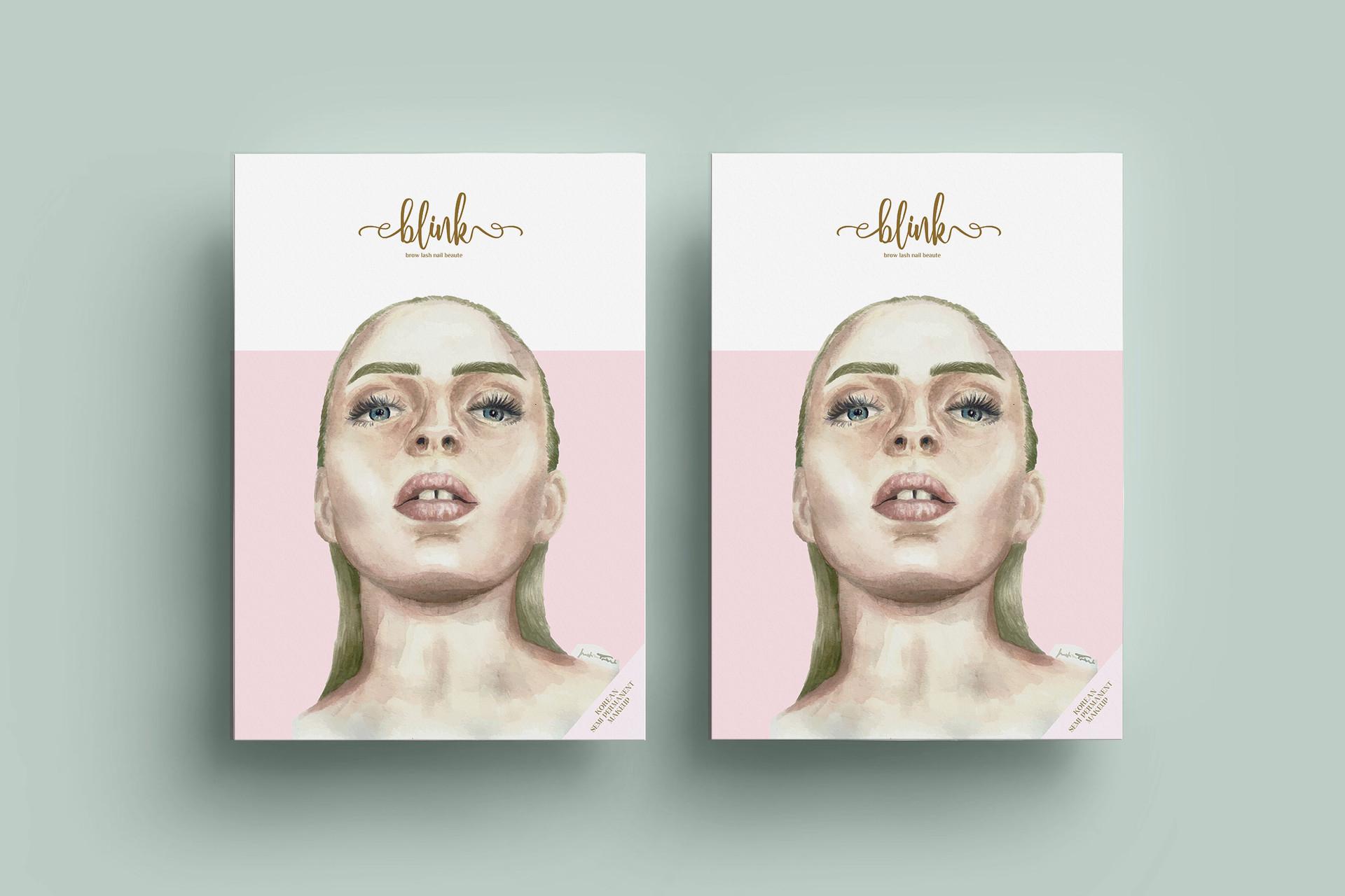 Catalog Cover Design for Blink Studio_id