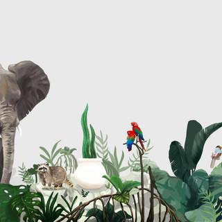 Animal Mural Design