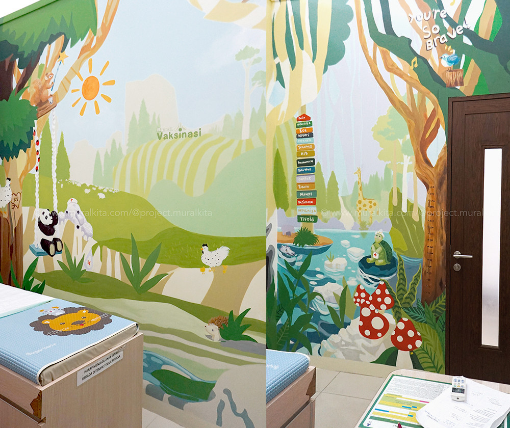 Custom Mural Design & Execution -