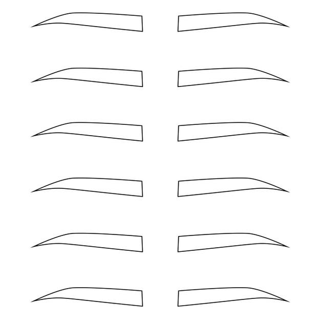 Vector - Brow Template