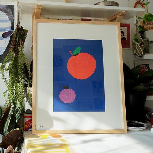 Art Print - Dua Jeruk