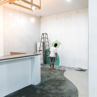 Mural Preparation