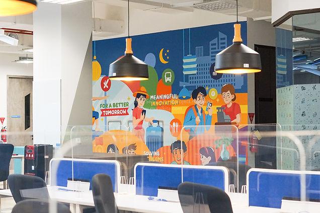 Traveloka Mural 5th Floor_Left Side-13.j