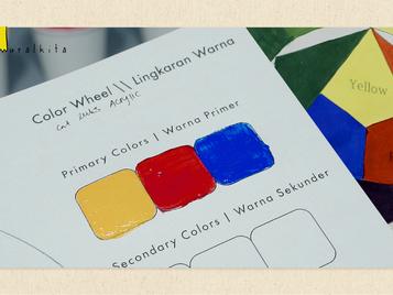 Cara Mencampur Warna | Color Wheel : Warna Primer, Sekunder & Tersier