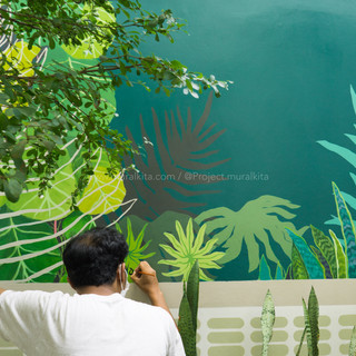 Finishing Mural